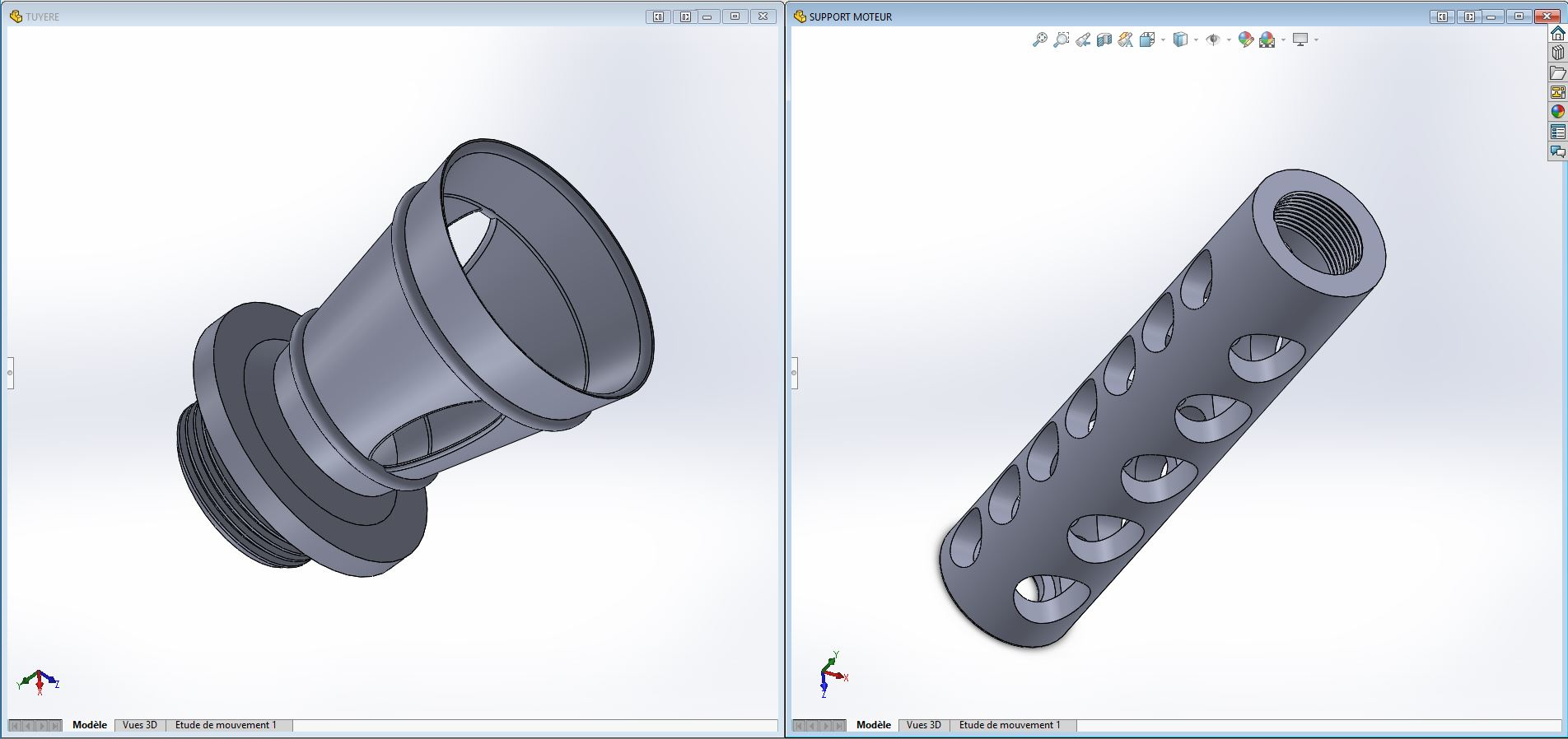 SpaceB -ArrowX1 pour le futur L1 3D-FAUCONL1-Motor-Casing