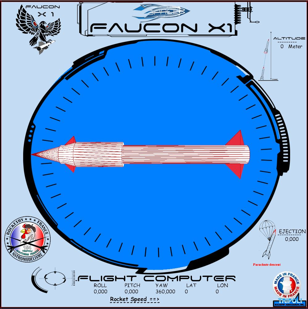 Ordinateur de vol de la Faucon X1 terminé Flight-computer-faucon-x1